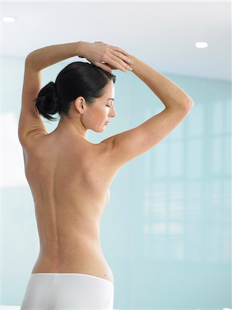 Beautiful back shot of woman Stock Photo - Rights-Managed, Code: 847-02782381