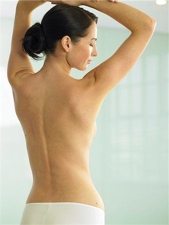 Beautiful back shot of woman Stock Photo - Rights-Managed, Code: 847-02782383