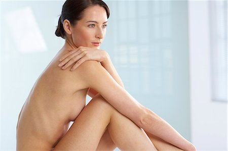 Landscape of beautiful naked woman Stock Photo - Rights-Managed, Code: 847-02782435