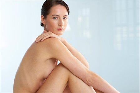 Landscape of beautiful naked woman Stock Photo - Rights-Managed, Code: 847-02782437