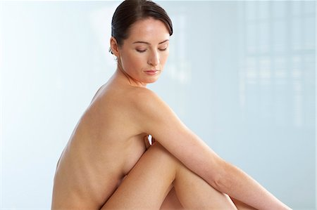 Landscape of beautiful naked woman Stock Photo - Rights-Managed, Code: 847-02782438