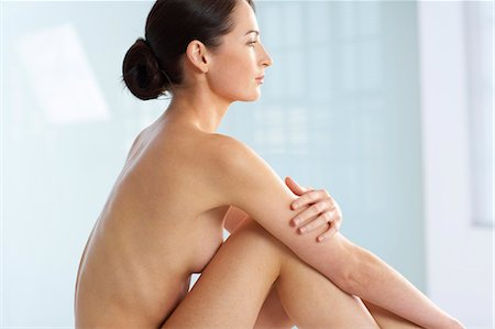 Landscape of beautiful naked woman Stock Photo - Rights-Managed, Code: 847-02782432