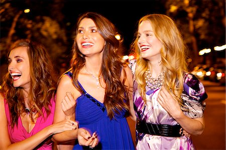 Girls night out in London Stock Photo - Rights-Managed, Code: 847-03719755