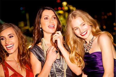 Girls night out in London Stock Photo - Rights-Managed, Code: 847-03719758