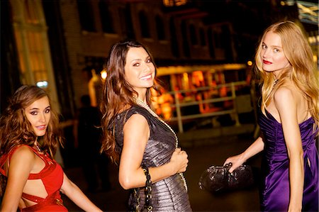 Girls night out in London Stock Photo - Rights-Managed, Code: 847-03719760