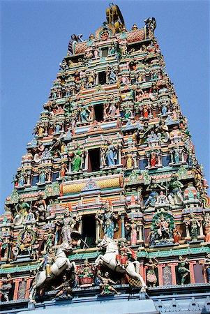 Singapore, Little India, Sri Srinivasa Perumal Temple. Stock Photo - Rights-Managed, Code: 849-02867045