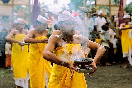 Indonesia, Bali, Dancers performing sacred dance (Kintamani). Stock Photo - Rights-Managed, Code: 849-02867245