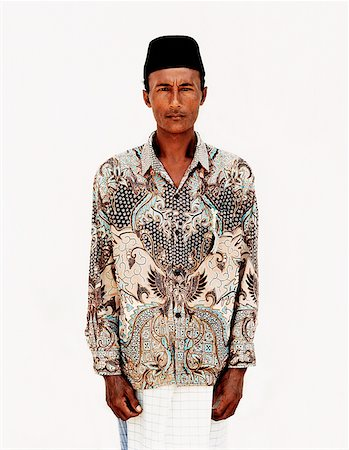 Indonesia, Bali, Ujung, Balinese Muslim at mosque during fasting month. Stock Photo - Rights-Managed, Code: 849-02867617