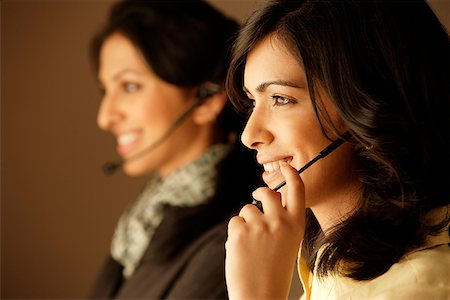 telecommunications agents Stock Photo - Rights-Managed, Code: 849-02862977
