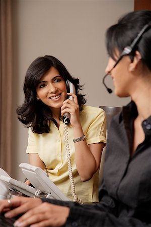 telecommunications agents Stock Photo - Rights-Managed, Code: 849-02863059