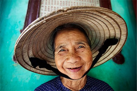 Vietnam,Hoi An,Portrait of Elderly Woman Stock Photo - Rights-Managed, Code: 849-03645628