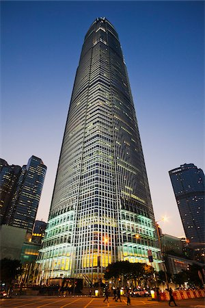 International Finance Centre Building, IFC, Hong Kong, China Stock Photo - Rights-Managed, Code: 849-03901125