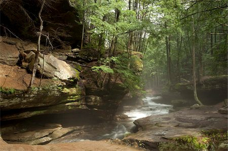 Hocking Hills State Park, Ohio, United States of America, North America Stock Photo - Rights-Managed, Code: 841-05784246