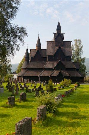 stave - Heddal Stave church, Heddal, Norway, Scandinavia, Europe Stock Photo - Rights-Managed, Code: 841-05784706