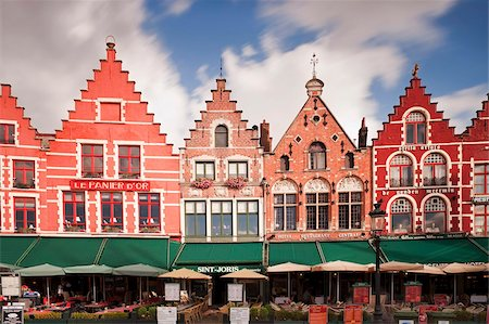 The Markt (Main Market Place), Bruges, Belgium, Europe Stock Photo - Rights-Managed, Code: 841-05784823