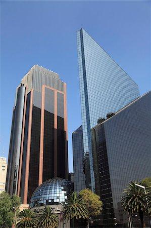 stock exchange building - Mexican Stock Exchange Building, Centro Bursatil, Paseo de la Reforma, Reforma, Mexico City, Mexico, North America Stock Photo - Rights-Managed, Code: 841-05785521