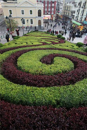 spiral - Park in Macau, China, Asia Stock Photo - Rights-Managed, Code: 841-05785971