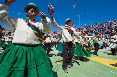 south american woman - Dancers at Anata Andina harvest festival, Carnival, Oruro, Bolivia, South America Stock Photo - Rights-Managed, Code: 841-05782800