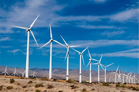 Wind Farm, Palm Springs, California, United States of America, North America Stock Photo - Rights-Managed, Code: 841-05783161