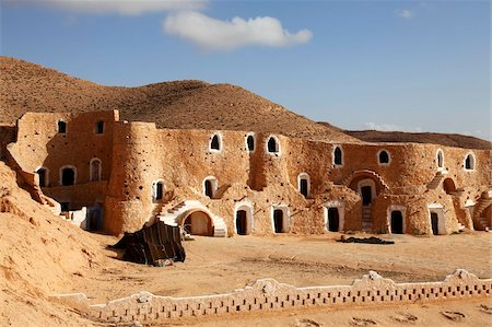 Diaramor Museum in troglodyte dwelling style building, Matmata, Tunisia, North Africa, Africa Stock Photo - Rights-Managed, Code: 841-05794632