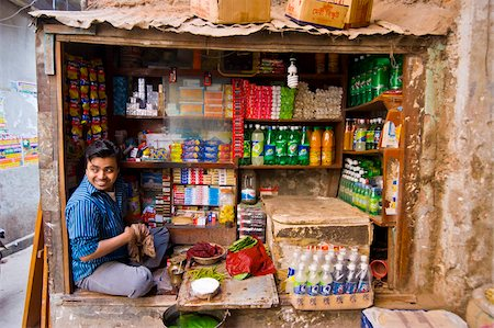 dhaka - Man in his small shop, Dhaka, Bangladesh, Asia Stock Photo - Rights-Managed, Code: 841-05794831