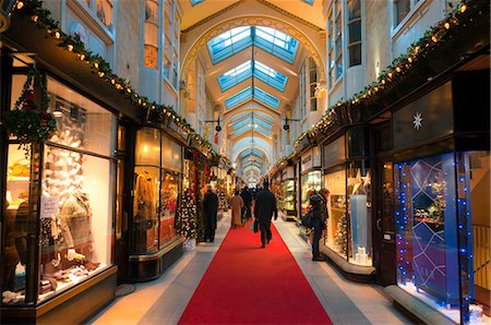 Burlington Arcade at Christmas, Piccadilly, London, England, United Kingdom, Europe Stock Photo - Rights-Managed, Code: 841-05795497