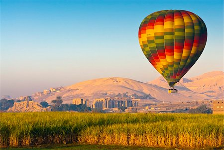 Ballooning near the Valley of the Kings, Thebes, Egypt, North Africa, Africa Stock Photo - Rights-Managed, Code: 841-05795639