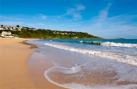 Carbis Bay Beach, Cornwall, England, United Kingdom, Europe Stock Photo - Rights-Managed, Code: 841-05795728