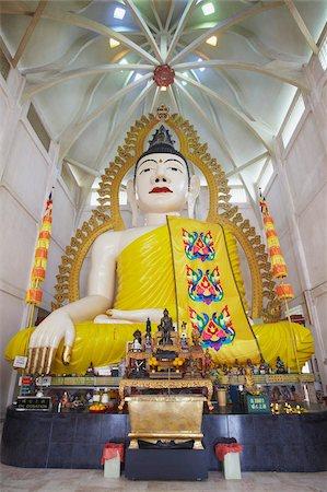 Buddha statue in Sakaya Muni Buddha Gaya Temple (Temple of 1000 Lights), Little India, Singapore, Southeast Asia, Asia Stock Photo - Rights-Managed, Code: 841-05846480