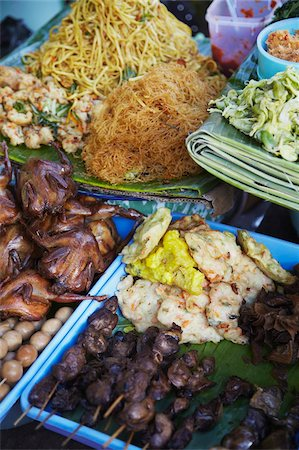 food stalls - Food on street stalls, Yogyakarta, Java, Indonesia, Southeast Asia, Asia Stock Photo - Rights-Managed, Code: 841-05846563