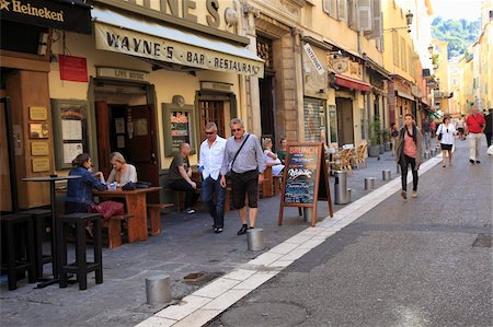 Old Town, Nice, Alpes Maritimes, Provence, Cote d'Azur, French Riviera, France, Europe Stock Photo - Rights-Managed, Code: 841-05846755