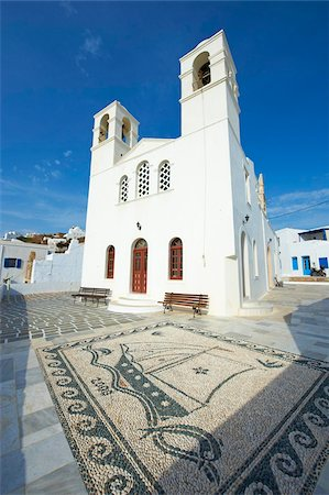 Korfiatissa church, Plaka, old village, Milos, Cyclades Islands, Greek Islands, Greece, Europe Stock Photo - Rights-Managed, Code: 841-05847488