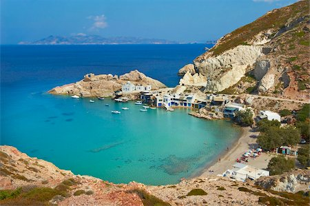 Firopotamos, Milos, Cyclades Islands, Greek Islands, Aegean Sea, Greece, Europe Stock Photo - Rights-Managed, Code: 841-05847506