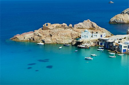 Firopotamos, Milos, Cyclades Islands, Greek Islands, Aegean Sea, Greece, Europe Stock Photo - Rights-Managed, Code: 841-05847507