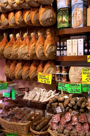 Butchers shop, Parma, Emilia-Romagna, Italy, Europe Stock Photo - Rights-Managed, Code: 841-05847934