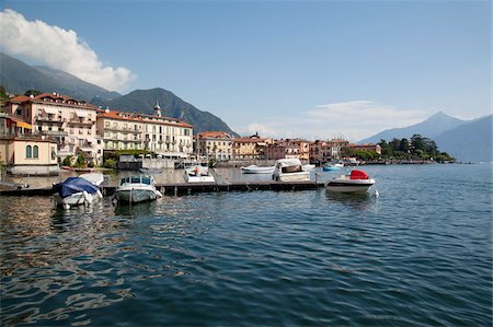 Town and Lake Como, Menaggio, Lombardy, Italian Lakes, Italy, Europe Stock Photo - Rights-Managed, Code: 841-05847949