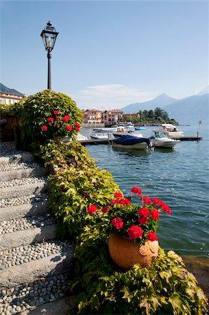 Town and lakeside, Menaggio, Lake Como, Lombardy, Italian Lakes, Italy, Europe Stock Photo - Rights-Managed, Code: 841-05847951