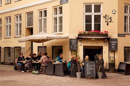 Restaurant, Copenhagen, Denmark, Scandinavia, Europe Stock Photo - Rights-Managed, Code: 841-05848119