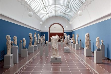 exhibition - Interior, NY Carlesberg Glyptotek Art Museum, Copenhagen, Denmark, Scandinavia, Europe Stock Photo - Rights-Managed, Code: 841-05848125