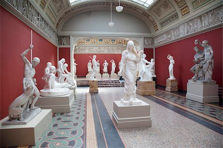 exhibition - Interior, NY Carlesberg Glyptotek Art Museum, Copenhagen, Denmark, Scandinavia, Europe Stock Photo - Rights-Managed, Code: 841-05848122