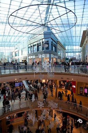 Christmas, Bullring Shopping Centre, City Centre, Birmingham, West Midlands, England, United Kingdom, Europe Stock Photo - Rights-Managed, Code: 841-05848321