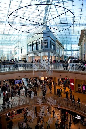 Christmas, Bullring Shopping Centre, City Centre, Birmingham, West Midlands, England, United Kingdom, Europe Stock Photo - Rights-Managed, Code: 841-05848321
