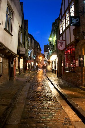 The Shambles at Christmas, York, Yorkshire, England, United Kingdom, Europe Stock Photo - Rights-Managed, Code: 841-05848480