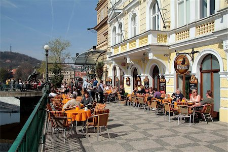 Restaurant in the Old Town, Prague, Czech Republic, Europe Stock Photo - Rights-Managed, Code: 841-05960255