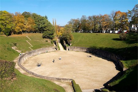 Roman amphitheater, UNESCO World Heritage Site, Trier, Rhineland-Palatinate, Germany, Europe Stock Photo - Rights-Managed, Code: 841-05960341