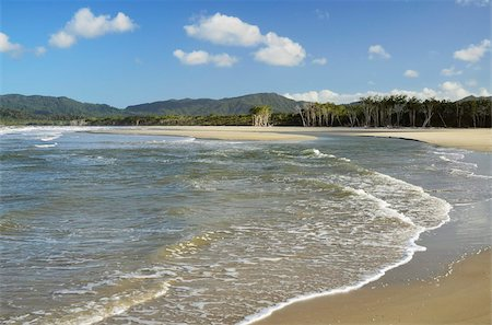 queensland - Noah Beach, Daintree National Park, UNESCO World Heritage Site, Queensland, Australia, Pacific Stock Photo - Rights-Managed, Code: 841-05960847