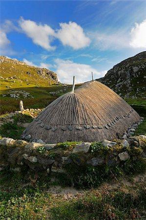 Bosta Iron Age House, Great Bernera Iron Age Village, Isle of Lewis, Western Isles, Scotland, United Kingdom, Europe Stock Photo - Rights-Managed, Code: 841-05961881