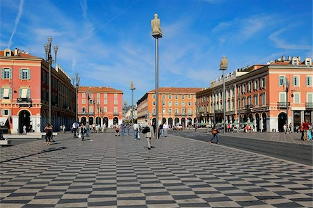 Place Massena, Nice, Alpes Maritimes, Provence, Cote d'Azur, French Riviera, France, Europe Stock Photo - Rights-Managed, Code: 841-05961896
