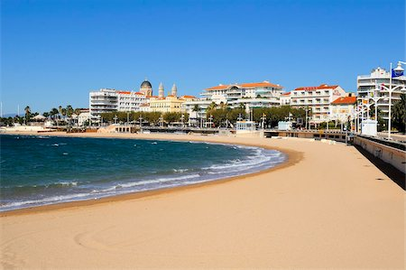 Plage Beaurivage (beach), St. Raphael, Provence, Cote d'Azur, France, Mediterranean, Europe Stock Photo - Rights-Managed, Code: 841-05961918