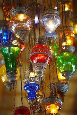 Lamps for sale, Istanbul, Turkey, Europe Stock Photo - Rights-Managed, Code: 841-05961990